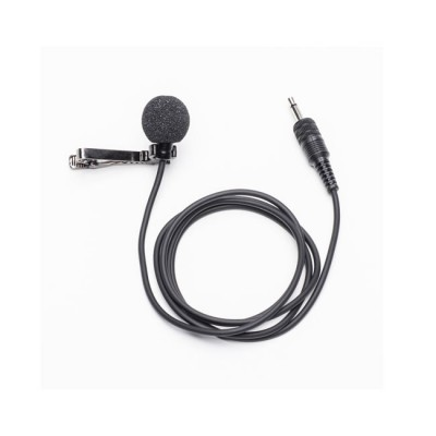 Azden Omni-Directional Lapel Mic with Locking 3.5 Connector