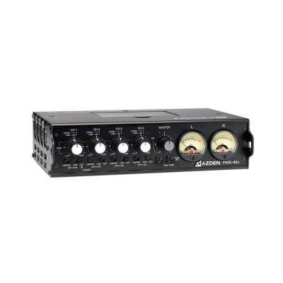 Azden 4-Channel Portable Mixer with 10-Pin Output