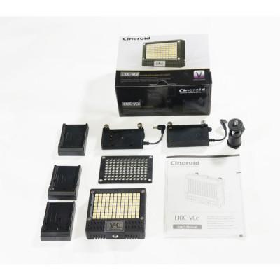 Cineroid L10C-VCeS On-Camera LED Light Battery Set