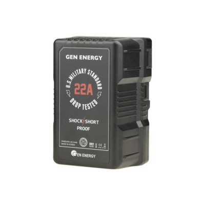 GEN ENERGY 290Wh / 20Ah Li-Ion V-Mount Battery (22A Max. Discharge Rate)