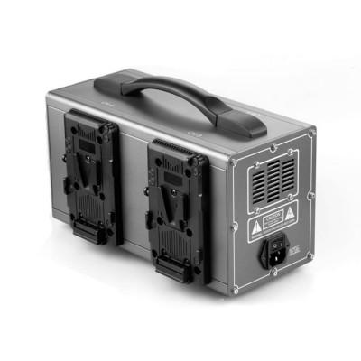 GEN ENERGY 4-Channel Simultaneous Fast V-Mount Charger (6A)