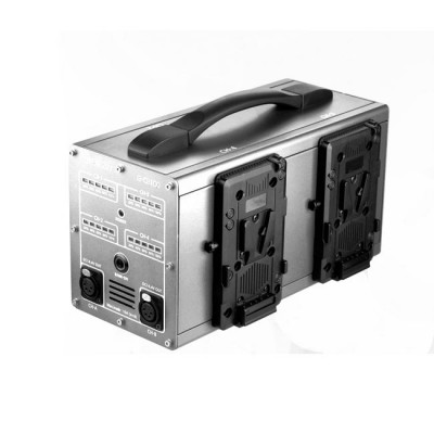 GEN ENERGY 4-Channel Simultaneous Fast V-Mount Charger (6A) and Power Station