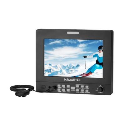 "MustHD 7"" Hyper-Brite™ 2200-nit High Brightness 1920x1200 Monitor with 3G-SDI Input/Loop-through"