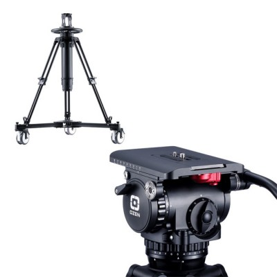 OZEN 20PED50S 100mm AGILE 20S (S-LOC) Tripod System with PED50 Pedestal
