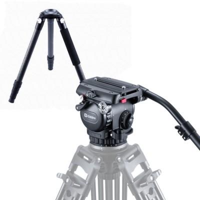 OZEN 6CF3S 75mm AGILE 6S S-LOC Tripod System