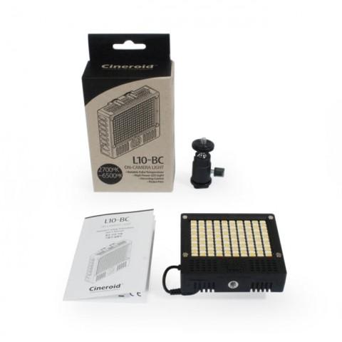 Cineroid L10-BC On-Camera LED Light