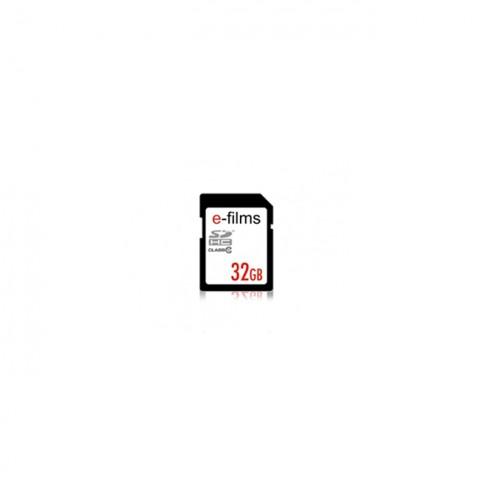 E-Films 32GB SDHC Class 10 Memory Card
