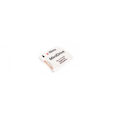 E-Films Minidrive: Micro SD Memory Card to SD Adapter to SD Adapter