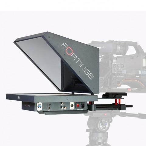 Fortinge ERA 19HB 19'' Studio Prompter Set with SDI Input & Output, Tally & Talent Monitor (High Brightness)