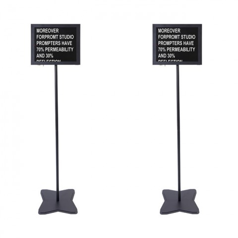 Fortinge PROM15-D-HB 15'' Dual Meeting Prompter Set (High Brightness)