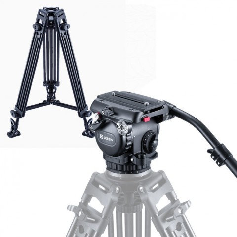 OZEN 6CF2S 75mm AGILE 6S S-LOC Tripod System