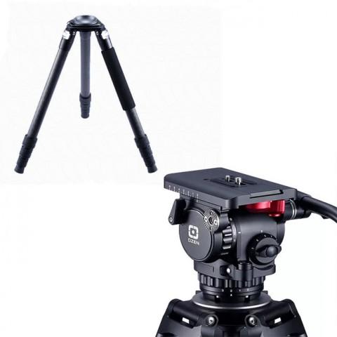 OZEN 6CF3 75mm AGILE 6 Mini E-Z LOAD Tripod System