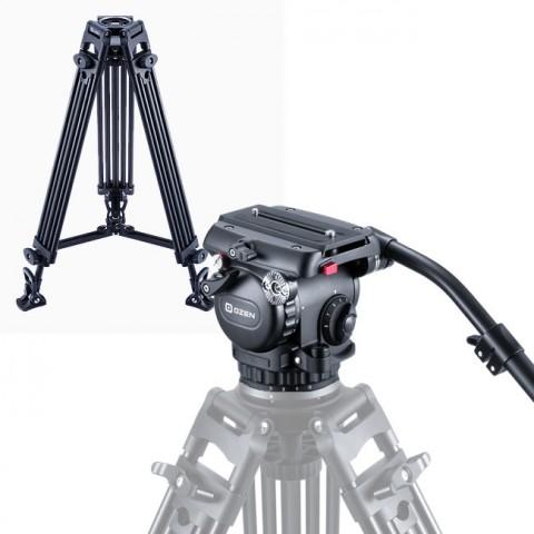 OZEN 8AL2S 75mm AGILE 8S S-LOC Tripod System
