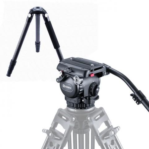 OZEN 8CF3S 75mm AGILE 8S S-LOC Tripod System