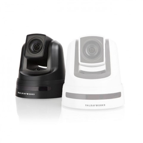 Salrayworks 1/2.8'' Exmor R CMOS Sensor PTZ Camera (Optical Zoom: 20x / Digital Zoom: 12x / Genlock, Black)