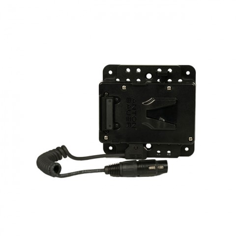 SmallHD V-Mount Battery Bracket with PWR-ADP-CPLATE (for 17