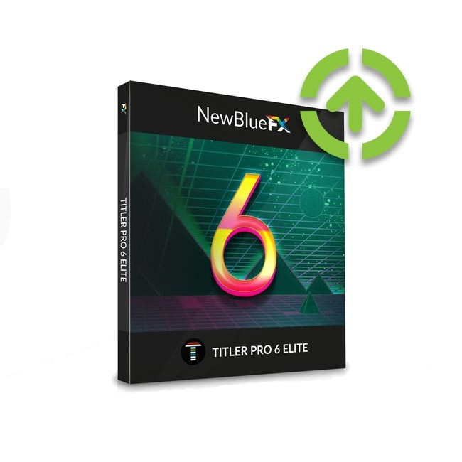 NewBlue Titler Pro 6 Elite (Upgrade from Titler Pro 3-5 Elite Edition) ESD