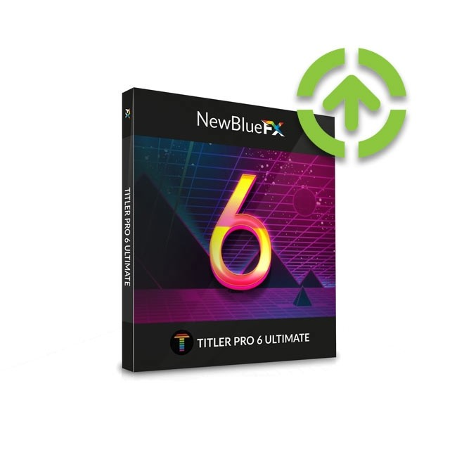 NewBlue Titler Pro 6 Ultimate (Upgrade from Titler Pro 3-5 Ultimate Edition) ESD
