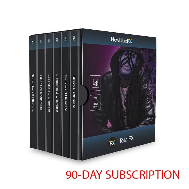 NewBlue TotalFX 5 ESD (90-Day Subscription)