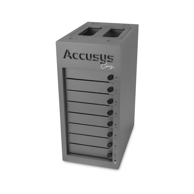 Accusys Gamma Carry with 8 4TB HDD Drives
