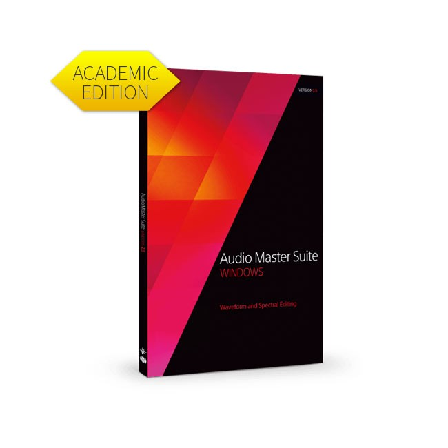 Magix Audio Master Suite 2.5 (Upgrade from previous version) Academic ESD