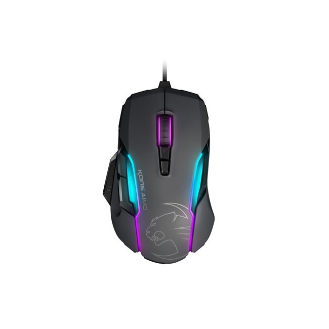 ROCCAT Kone AIMO - RGBA Smart Customization Gaming Mouse (Grey)