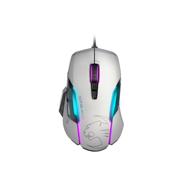 ROCCAT Kone AIMO - RGBA Smart Customization Gaming Mouse (White)