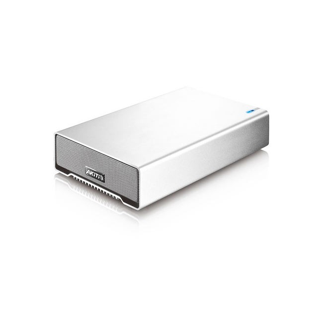 "AKiTiO 1Bay, 3.5"" External Storage Enclosure (Features 1xUSB3 Port, USB Cable)"