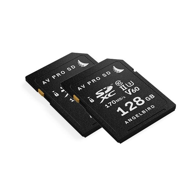 Angelbird AVpro SD 128GB V60 (2-Pack)