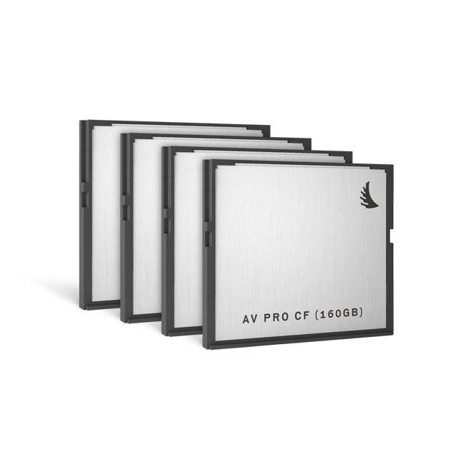 Angelbird AVpro CFast 160 GB (4 Pack)