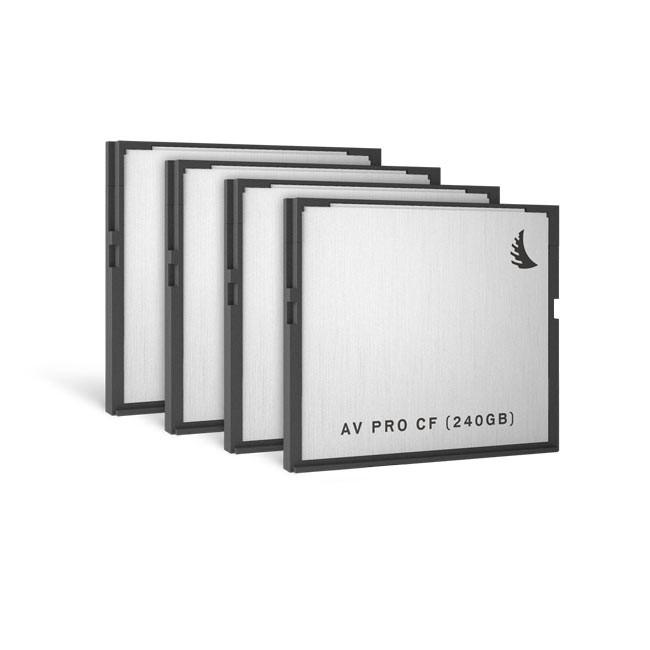 Angelbird AVpro CFast 240 GB (4 Pack)