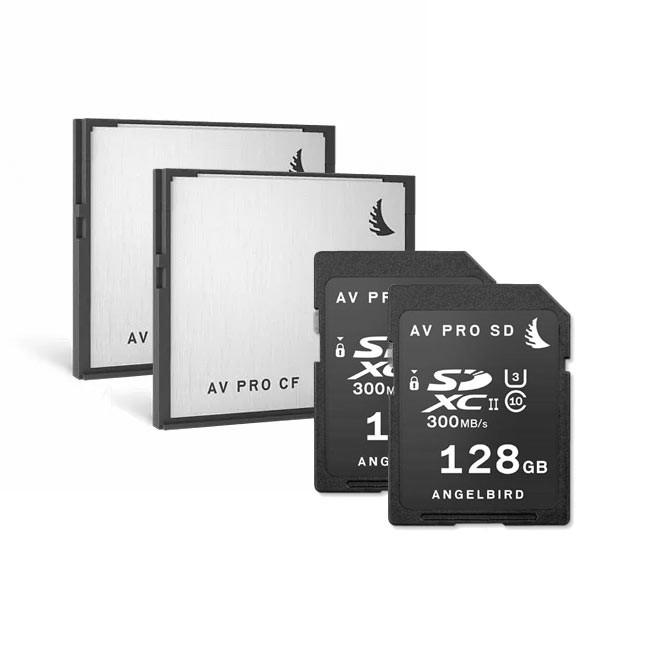 Angelbird URSA Pro Pack (2x CF256, 2x SD128)