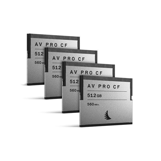Angelbird AVpro CF 512GB (4-Pack)