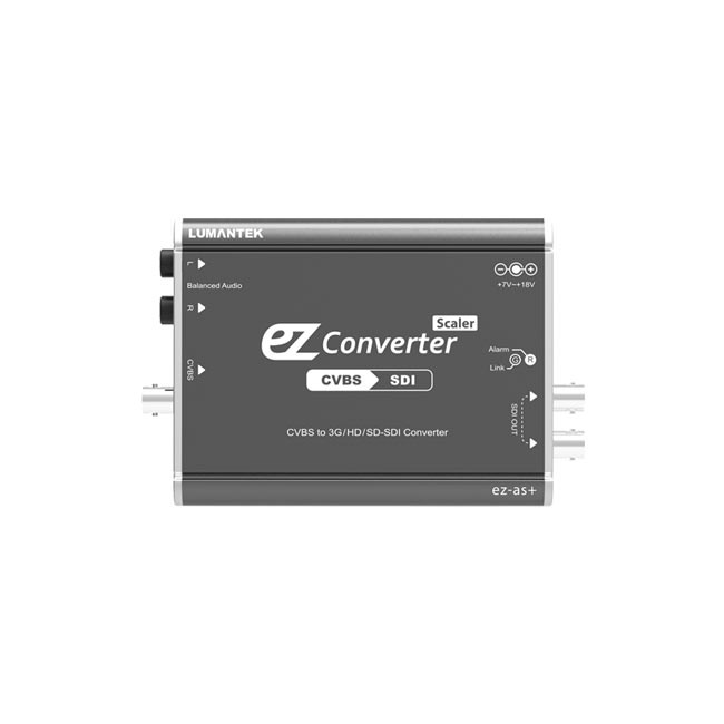 Lumantek CVBS to 3G/HD/SD-SDI Converter  with Scaler