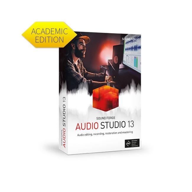 Magix Sound Forge Audio Studio 13 (Academic) ESD