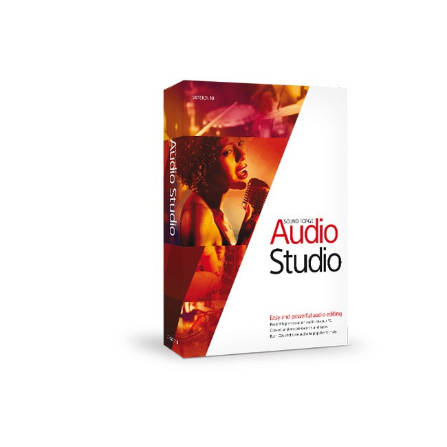 Magix Sound Forge Audio Studio 10 ESD