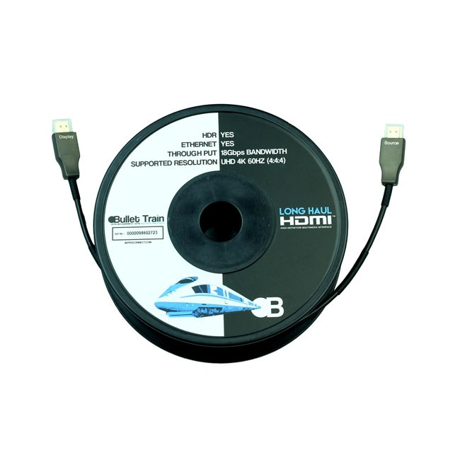 Bullet Train Long Haul Active Optical HDMI Cable Master Pack (15m)