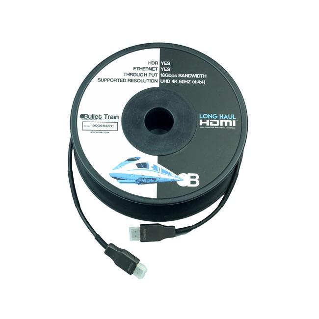Bullet Train Long Haul Active Optical HDMI Cable (40m)