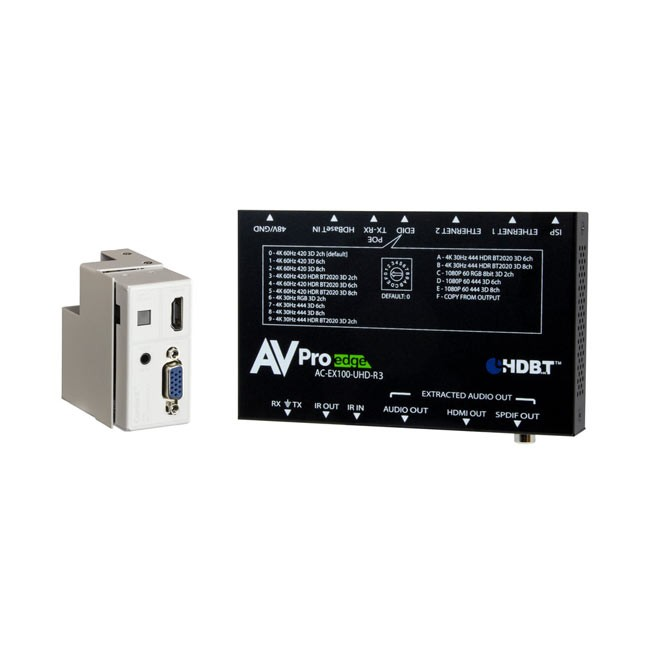 AVPro Edge VGA Wallplate Transmitter 100 Kit