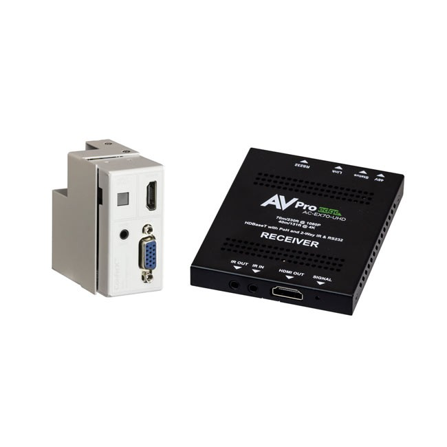 AVPro Edge VGA Wallplate Transmitter 70 Kit