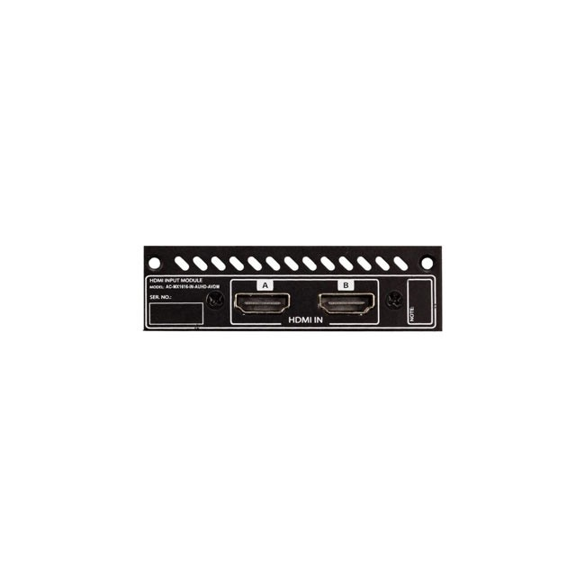 AVPro Edge MX1616-IN-AUHD-AVDM Modular Input HDMI Card (Set of 2, With Downmixing)