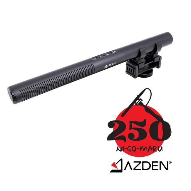 Azden Professional Dual-Powered Shotgun Microphone