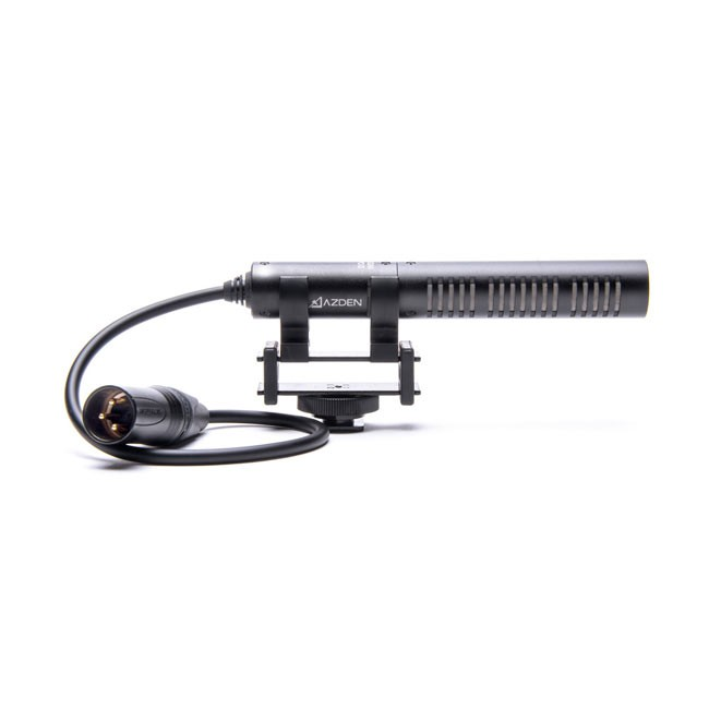 Azden Pro Shotgun Mic with XLR Pigtail Output