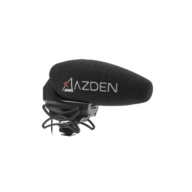 Azden Stereo/Mono Switchable Video Mic with +20dB Boost