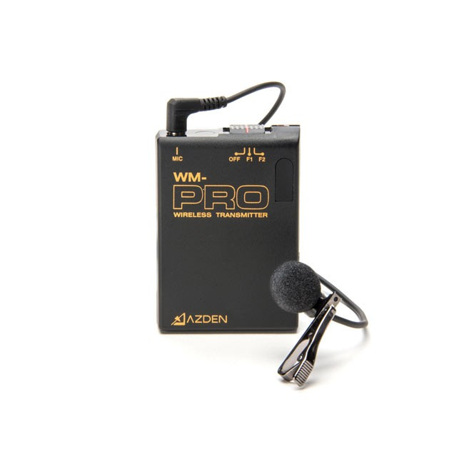 Azden VHF Wireless Transmitter with EX-503 Lapel Microphone