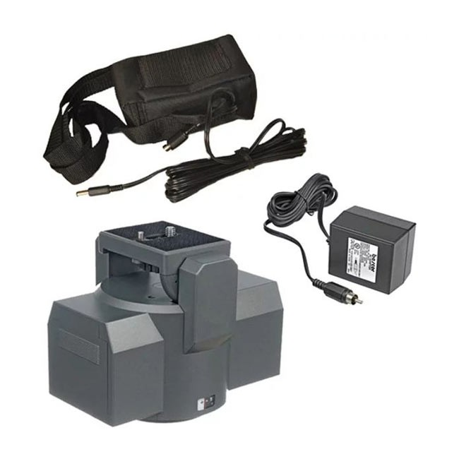 Bescor MP101 Motorized Pan Head & Extended Power External Battery Kit