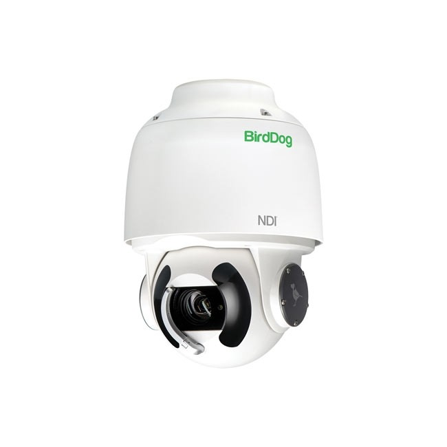 BirdDog Eyes A200 IP67 Weatherproof Full NDI PTZ Camera with Sony Sensor & SDI (White)