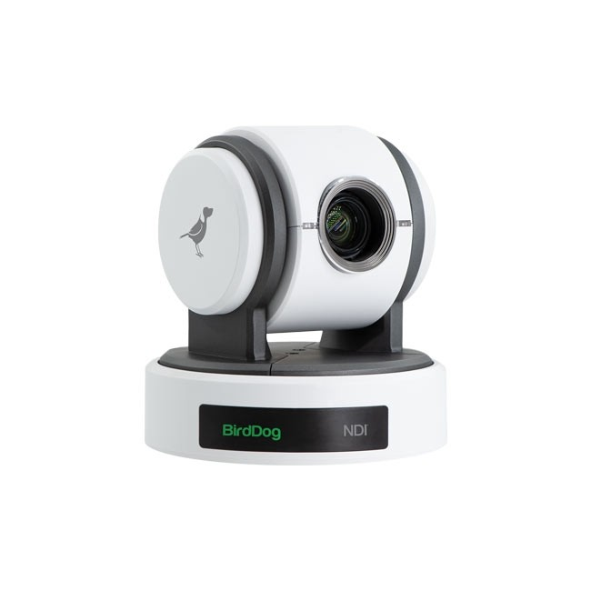 BirdDog Eyes P100 1080P Full NDI PTZ Camera with SDI (White)