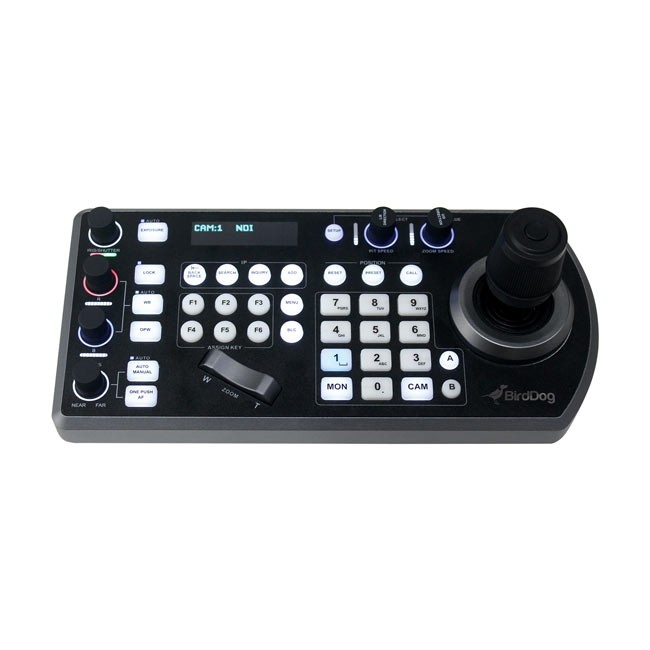 BirdDog PTZ Keyboard Controller