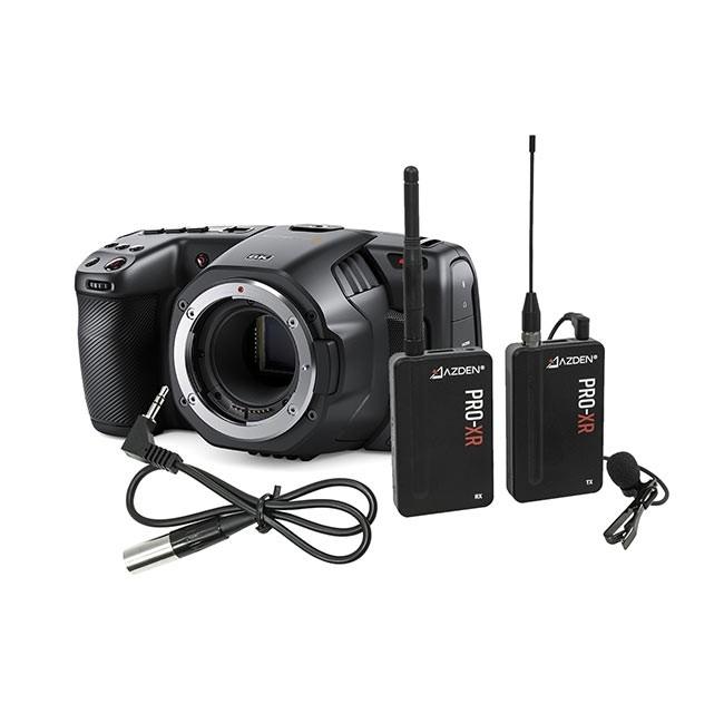 Blackmagic Pocket Cinema Camera 6K & Azden PRO XR Kit